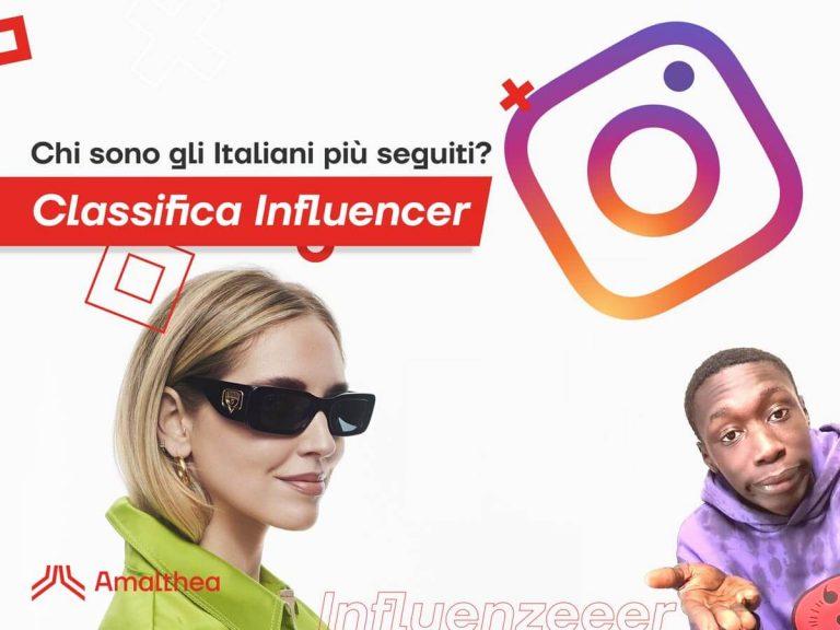 Classifica Influencer Italiani Instagram