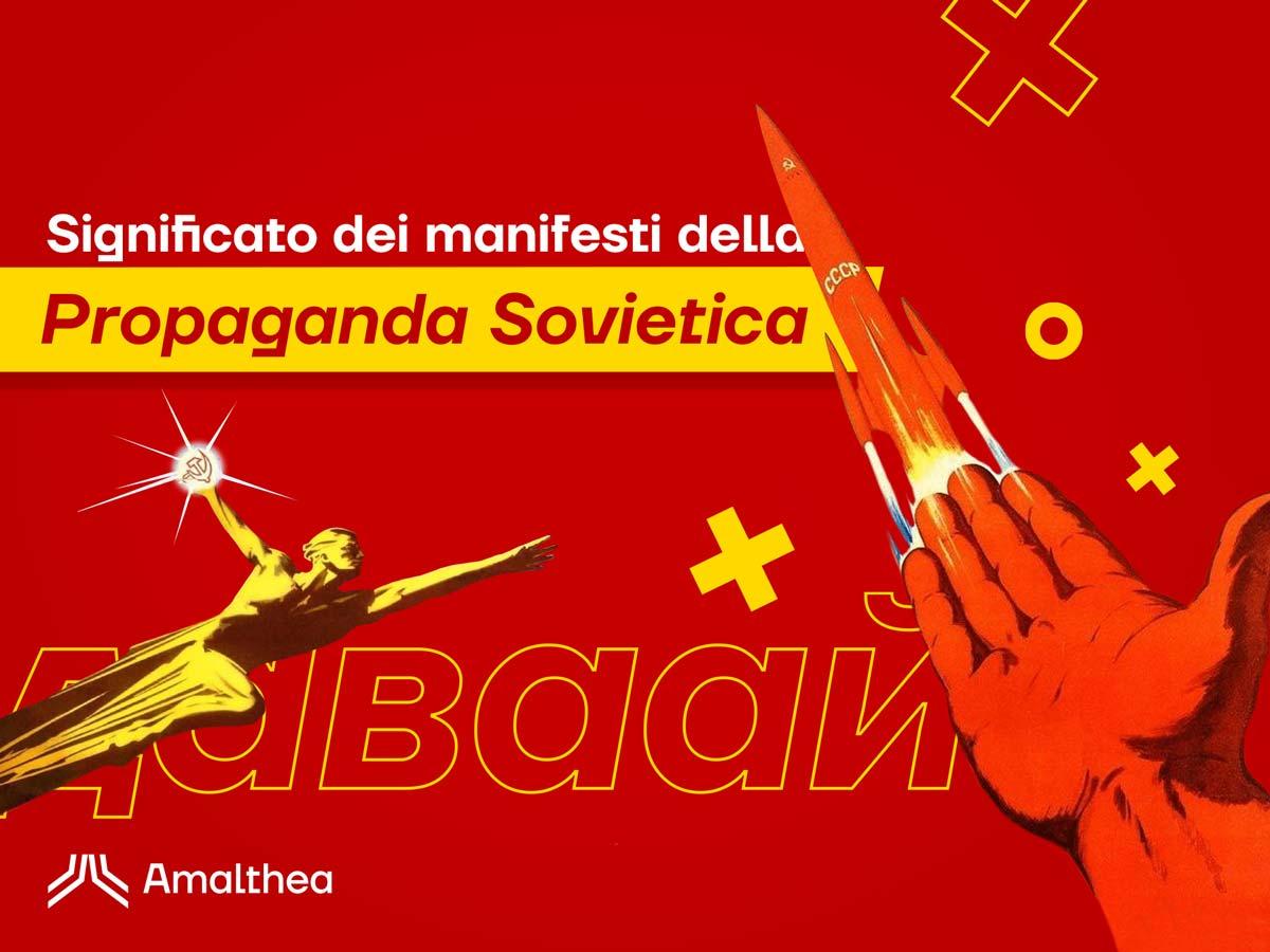 Significato dei manifesti di propaganda sovietica