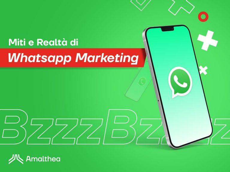 Fra miti e realtà del Whatsapp Marketing